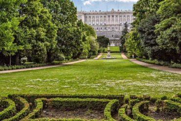 Campo del Moro. Madrid.