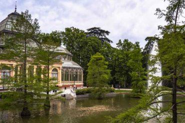 Qué ver en Madrid. Parque del Buen Retiro. Palacio de cristal.