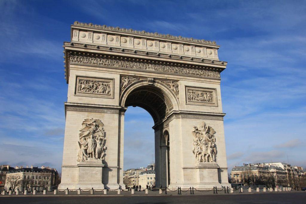 Imagen Arco del Triunfo en París Francia. Cicerone Plus