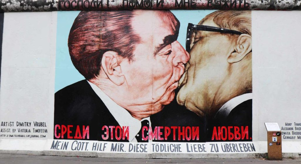 Imagen East Side Gallery de Berlín en Alemania. Cicerone Plus