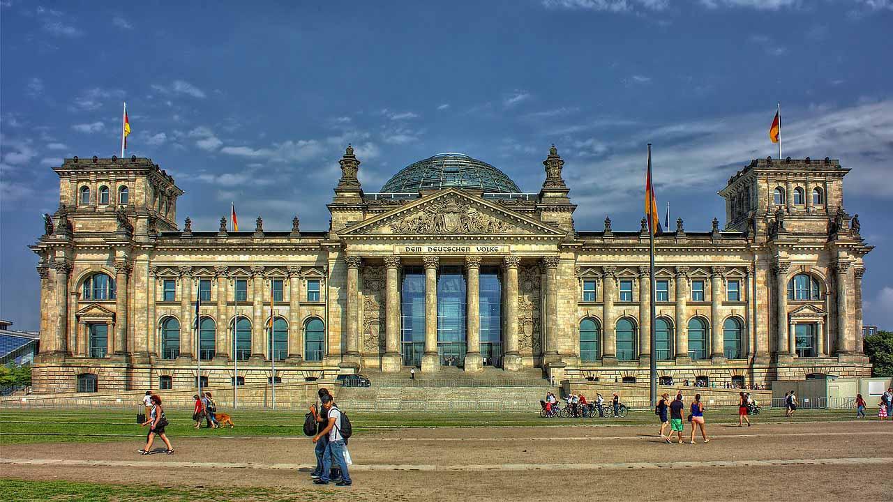Imagen Edificio del Reichstag en Berlín en Alemania, Cicerone Plus.