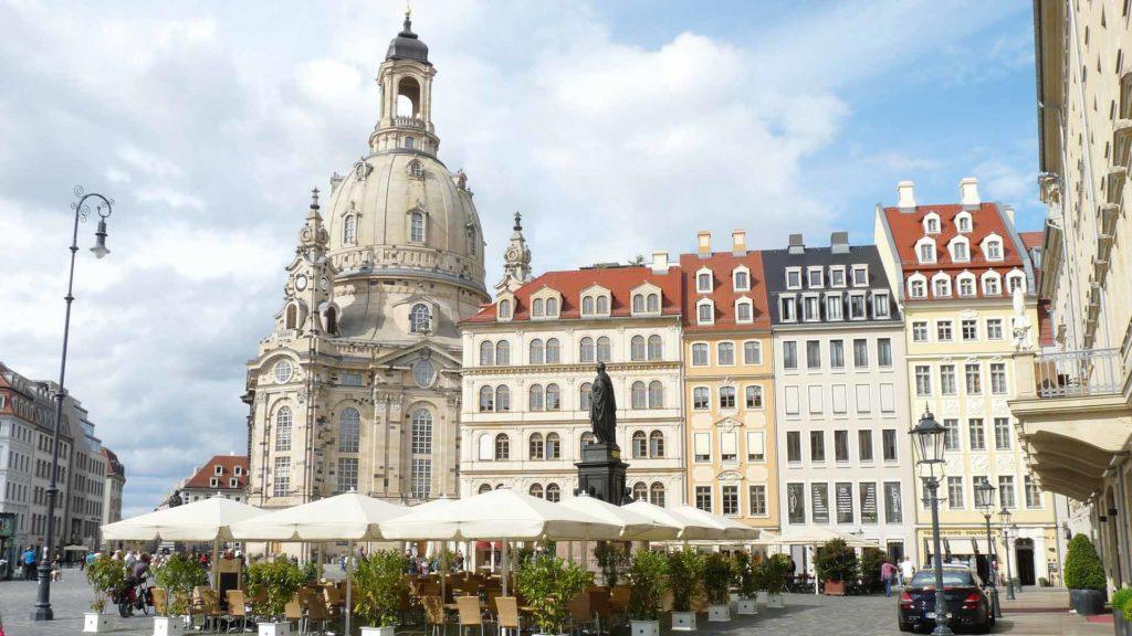 Imagen Frauenkirche de Dresde en Alemania. Cicerone Plus