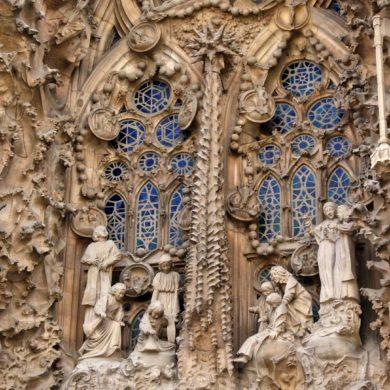 Imagen La Sagrada Familia de Antoni Gaudí en Barcelona. Cicerone Plus