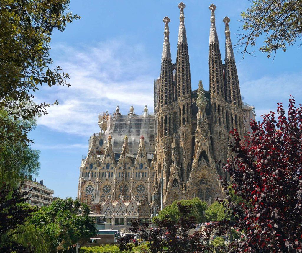 Imagen La Sagrada Familia en Barcelona. Cicerone Plus