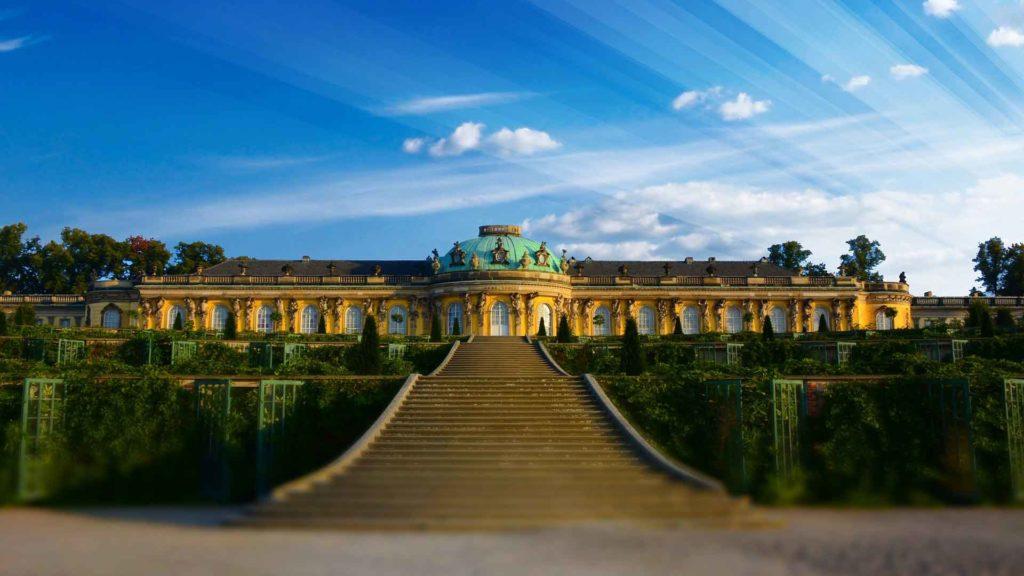 Imagen Palacio de Sanssouci de Postdam en Alemania. Cicerone Plus