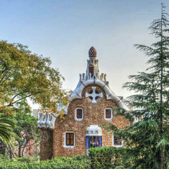 Imagen Parc Guell de Antoni Gaudí en Barcelona. Cicerone Plus