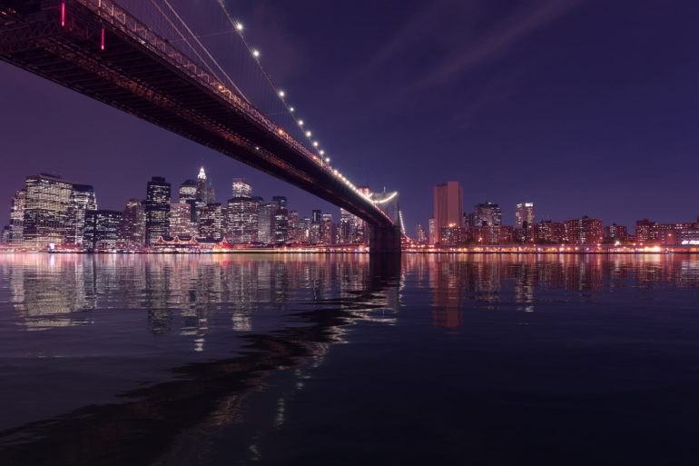 Imagen Puente de Brooklyn de Nueva York en Estados Unidos. Cicerone Plu