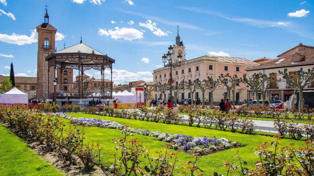 Imagen Fotografía del centro de Alcalá de Henares. Cicerone Plus