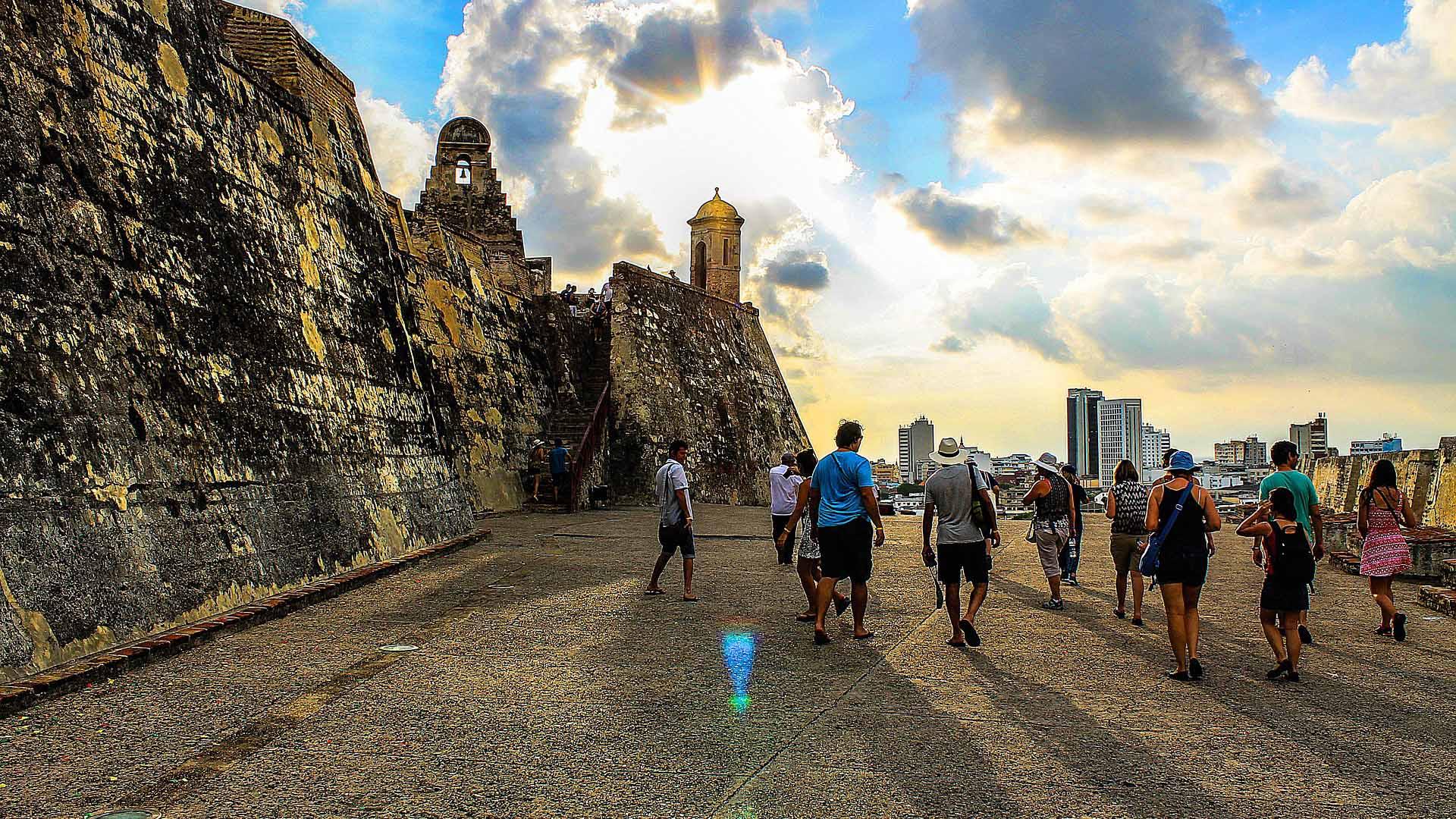 Imagen Castillo San Felipe de Barajas de Cartagena de Indias en Colombia. Cicerone Plus