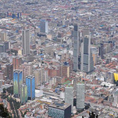 Imagen Panorámica de la ciudad de Bogotá en Colombia. Cicerone Plus