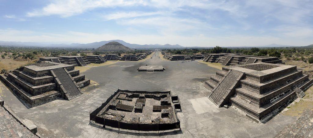 Imagen Pirámides de Teotihuacán de Ciudad de México. Cicerone Plus