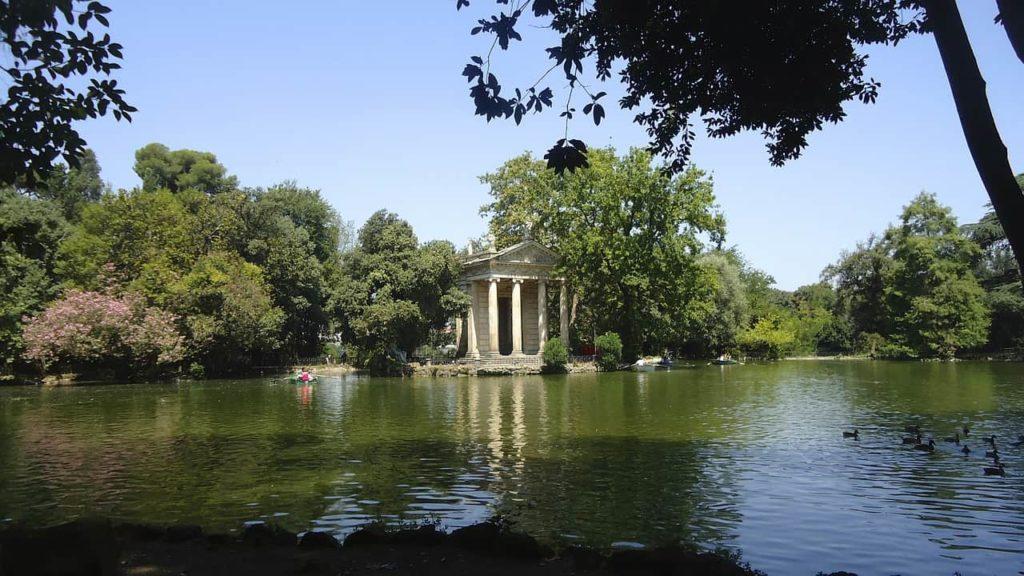 Imagen Villa Borghese en Roma Italia. Cicerone Plus