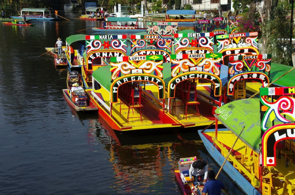 Imagen Xochimilco en Ciudad de México. Cicerone Plus