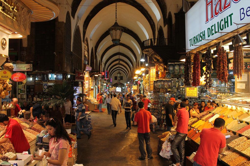Imagen Gran Bazar de Estambul en Turquía. Cicerone Plus