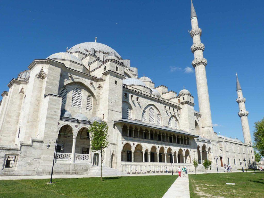 Imagen Mezquita de Solimán de Estambul en Turquía. Cicerone Plus