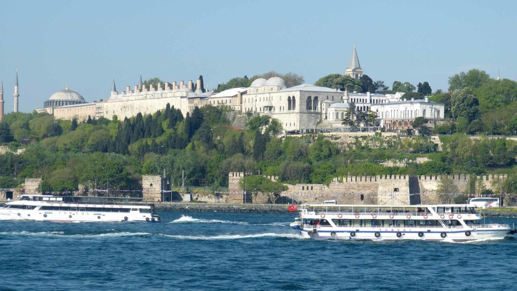 Imagen Palacio de Topkapi de Estambul en Turquia