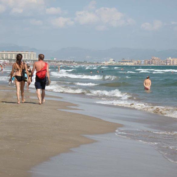 Imagen Playa de Valencia España. Cicerone Plus
