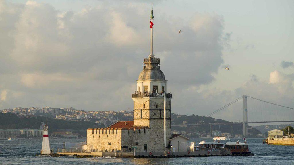 Imagen Torre de la doncella. Estambul en Turquía. Cicerone Plus